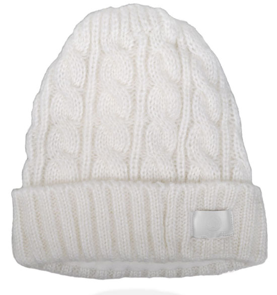 AERIAL7 Sound Disk Beanie Mammoth Antique White