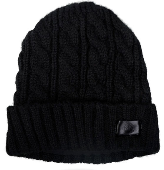 AERIAL7 Sound Disk Beanie Mammoth Black