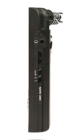 Alesis VideoTrack Side View