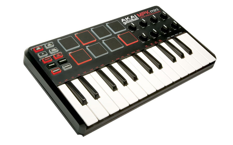 Akai MPK Mini Angled View