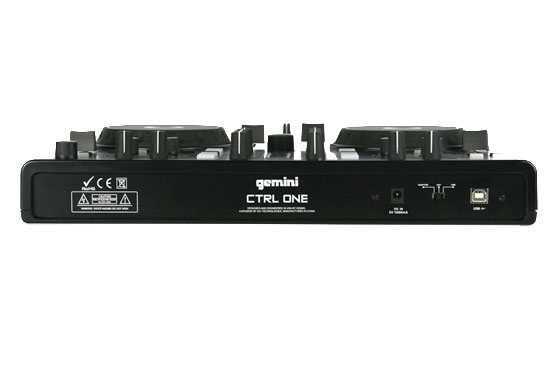 Gemini CTRL-ONE Rear View