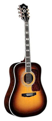Guild D55 Antique Burst