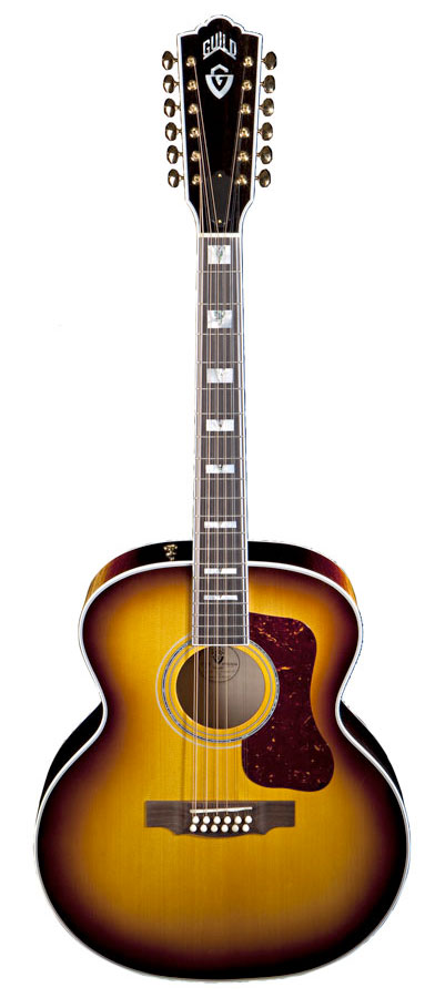 Guild F412 Antique Burst
