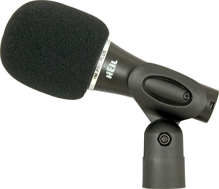 Heil Sound Handi Mic Pro Plus W/ Clip and Windscreen