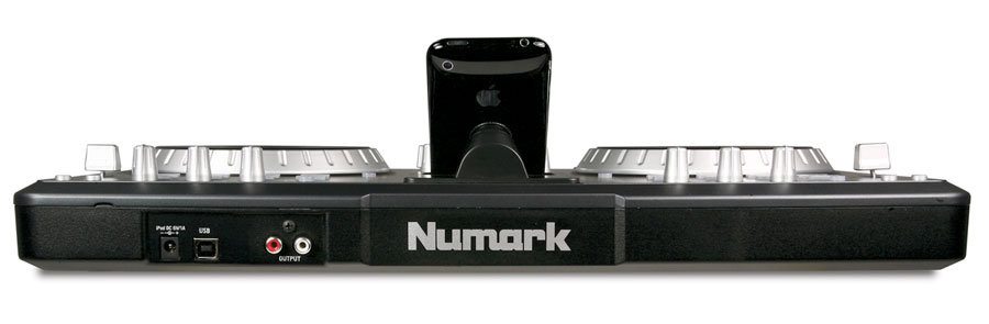 Numark iDJ3 Rear View