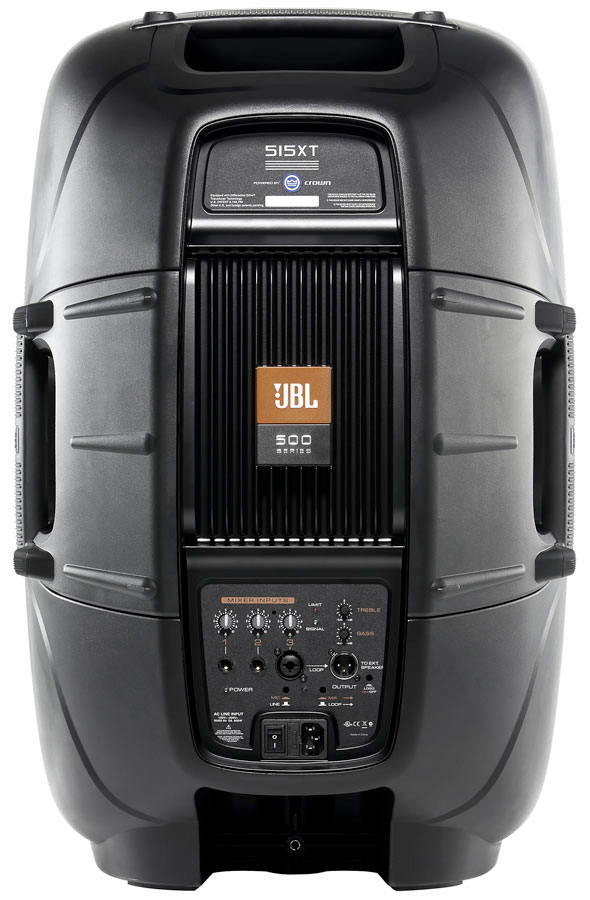 JBL EON 515XT Rear View