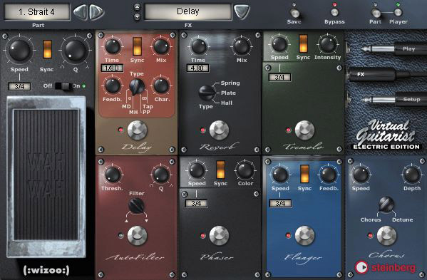 Steinberg Virtual Guitarist - Electric Edition Interface View 2