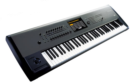Korg Kronos 73 Refurbished Angled View 2