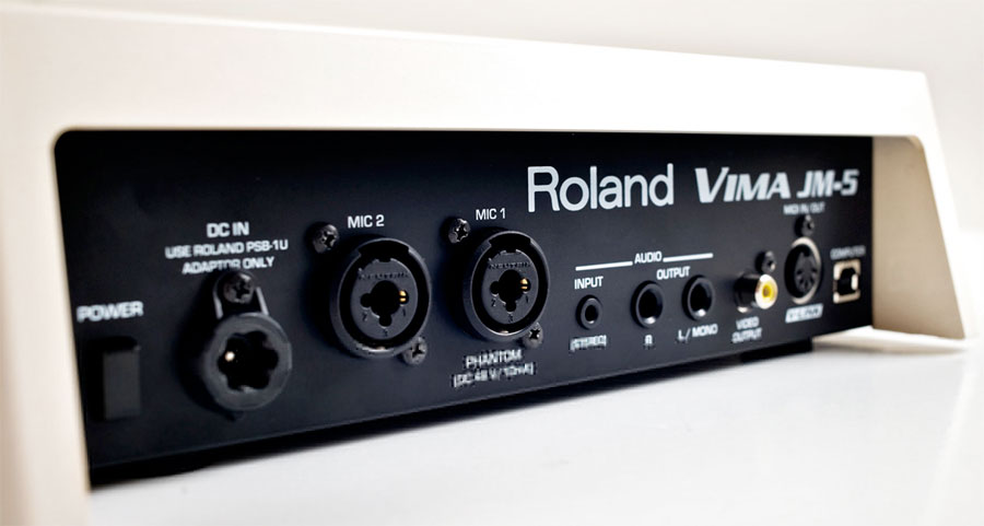 Roland JM-5 VIMA Rear View