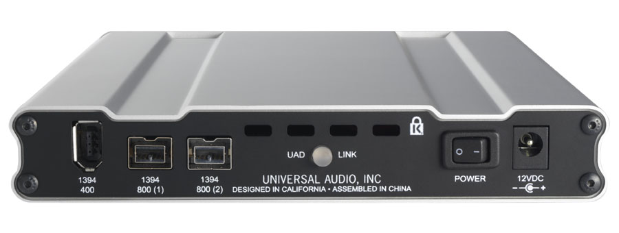 Universal Audio UAD2 Satellite DUO Flexi Rear View
