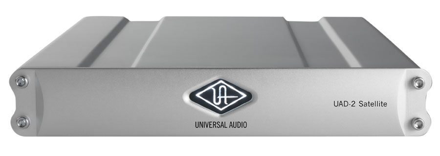 Universal Audio UAD2 Satellite DUO Flexi Front View
