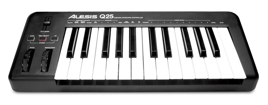 Alesis Q25Angled View