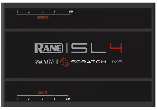 Rane SL4 Serato Top View