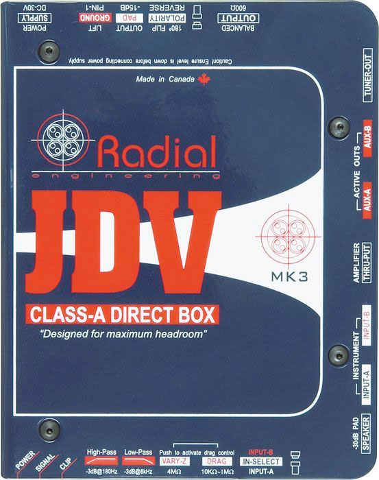 Radial JDV MK3 Top View