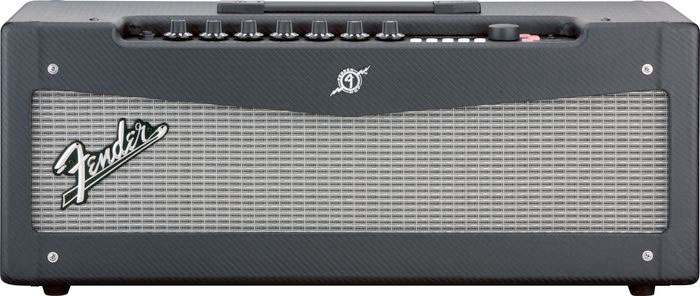 Fender Mustang V Head Angled View