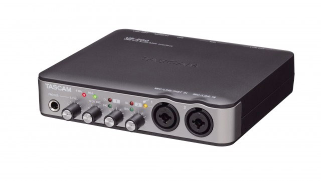 Tascam US-200 Angled View