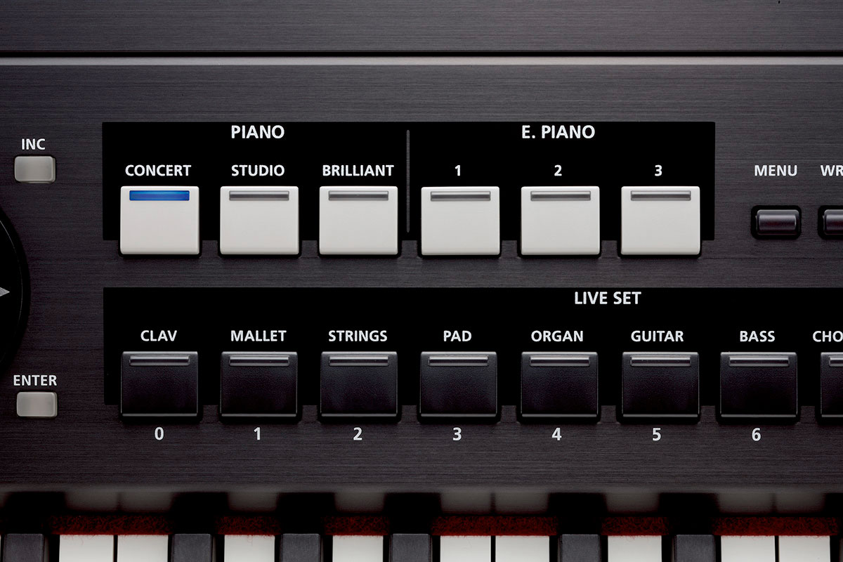 Roland RD-700NX Control Detail 2