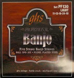 PF130 Light Banjo Strings