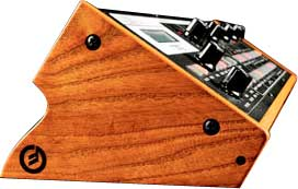 Moog Wood Side Panels for Slim Phatty Side View
