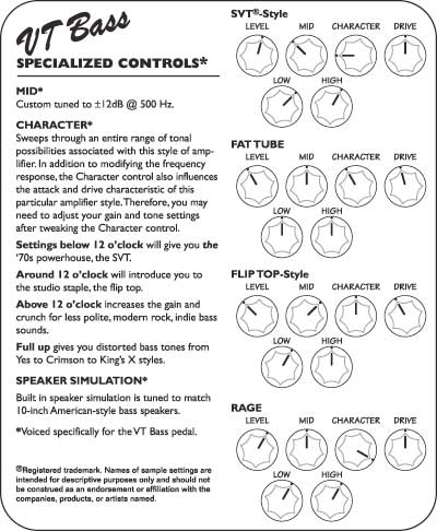 Specialized Controls