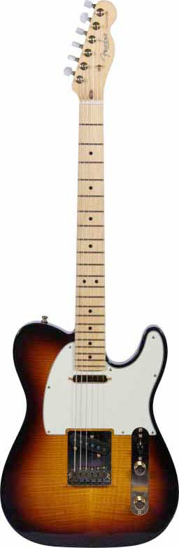 60th Anniversary Tele-bration Flame Top Telecaster Antique Burst