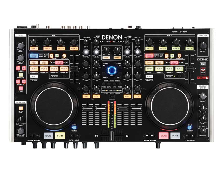 Denon DN-MC6000 Top View