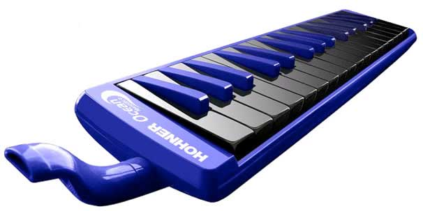 Hohner Melodica  Large View Blue