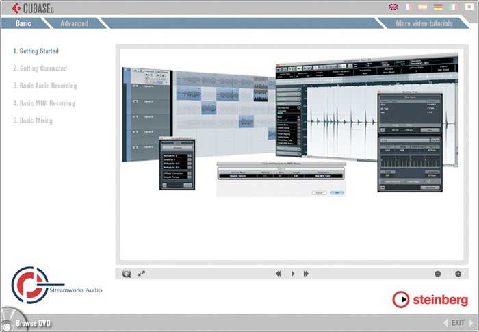Steinberg Cubase 6 Professional Video Tutorial