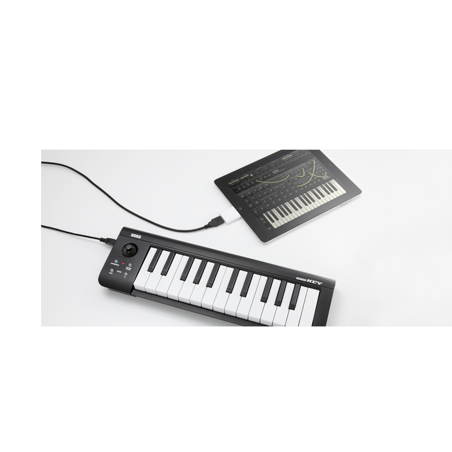 Korg microKeyw/ iPad