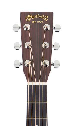 Martin DRS1 Road Series Headstock Detail