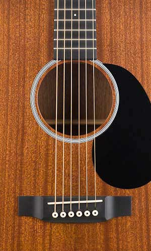 Martin DRS1 Road Series Soundhole Detail