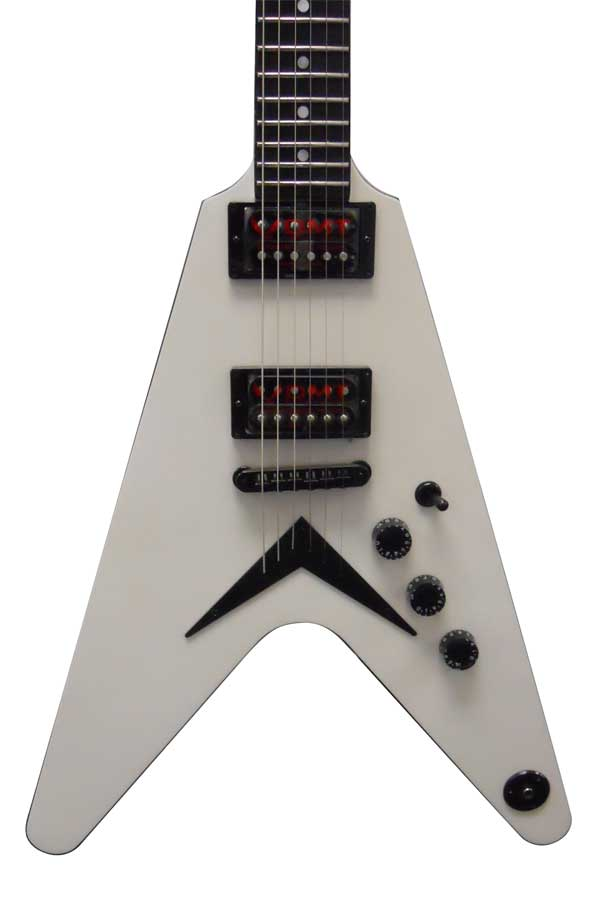 Dean USA 1000 V - Metallic White Body Detail