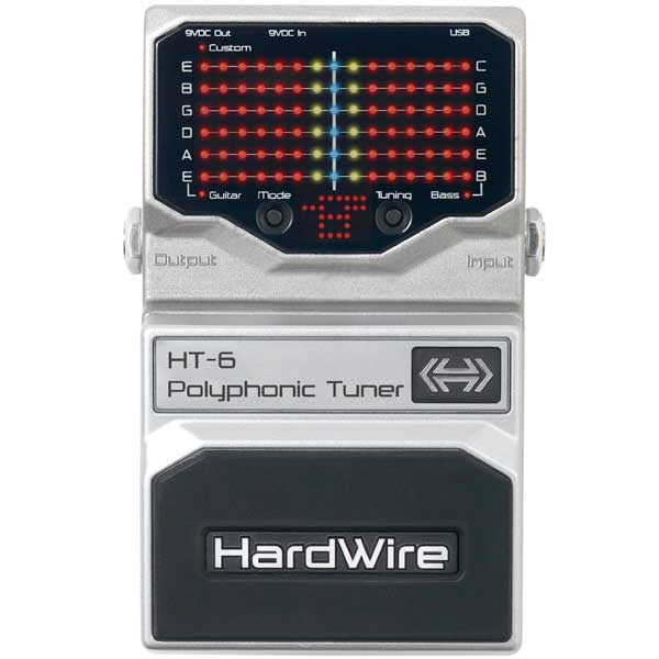 Digitech HT-6 Top View