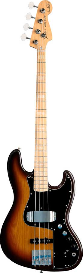 Fender Marcus Miller Jazz Bass® 3-Color Sunburst