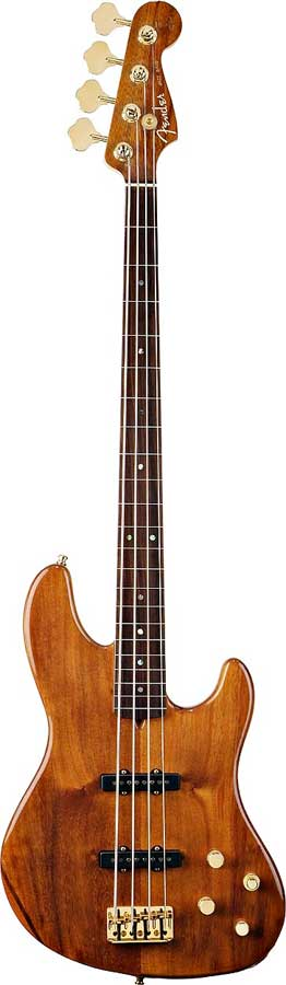 Victor Bailey Jazz Bass® Fretless - Natural