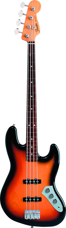 Jaco Pastorius Jazz Bass® 3 Color Sunburst