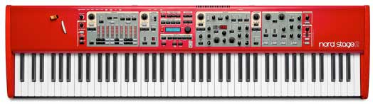 Nord NS2 Stage 2 HA 88-Key Top View