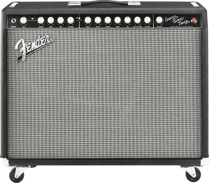 Fender Super Sonic™ Twin Combo Front View
