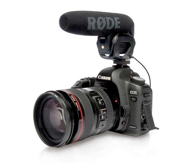 Rode VideoMic Pro On Camera