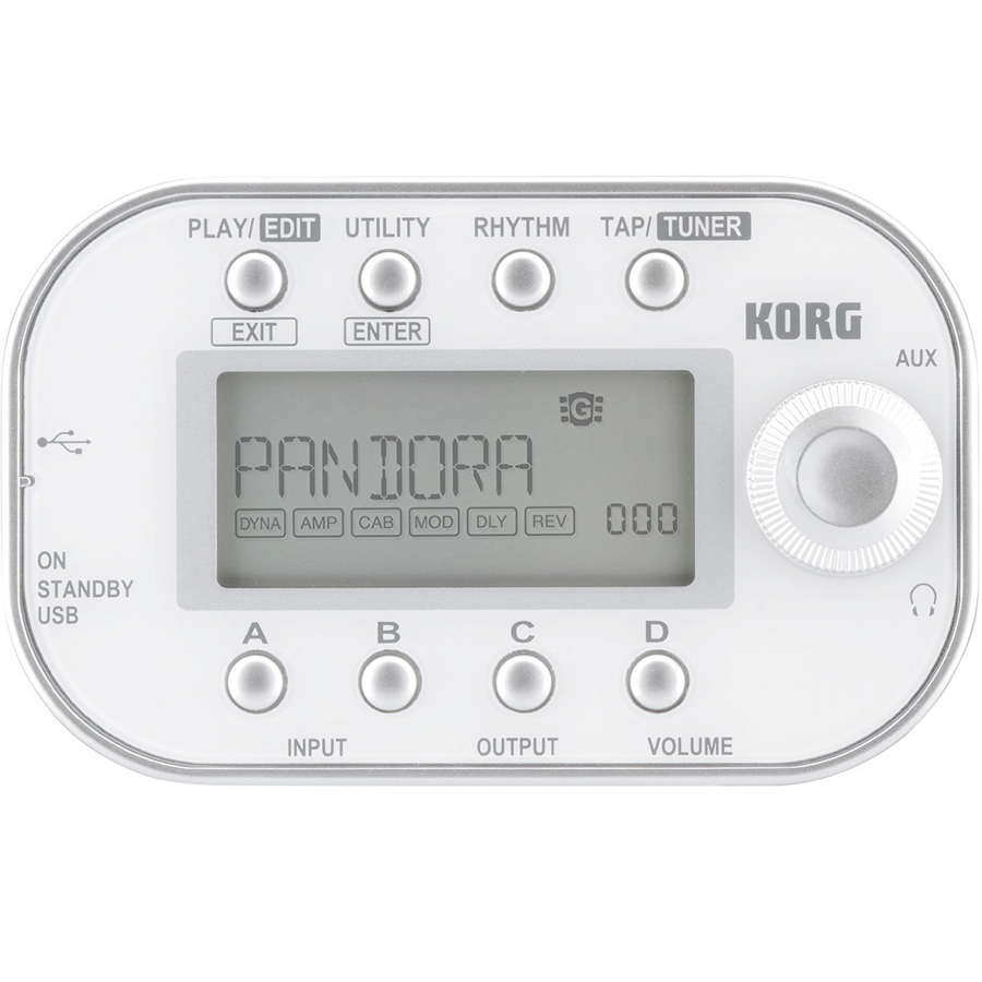 Korg PANDORA mini - White Angled View