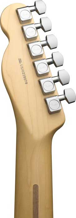 Fender 60th Anniversary Telecaster® - Blackguard Blonde Rear Headstock