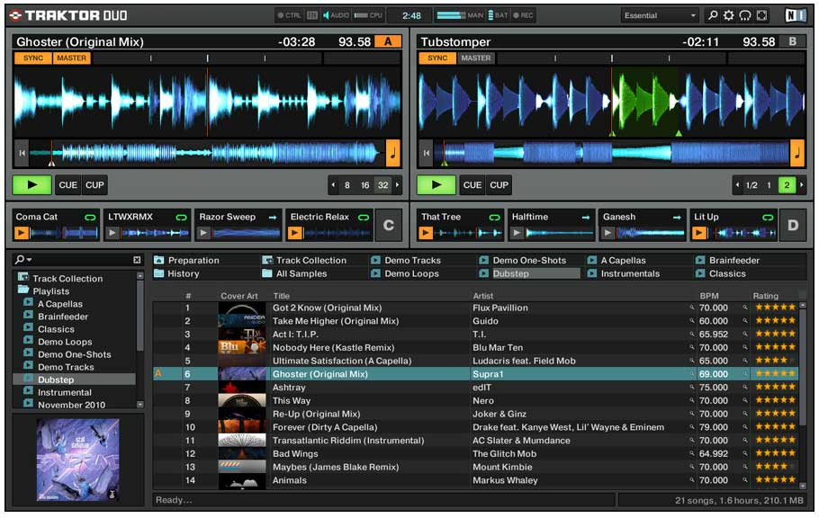 Native Instruments Traktor Duo 2 Screenshot 1