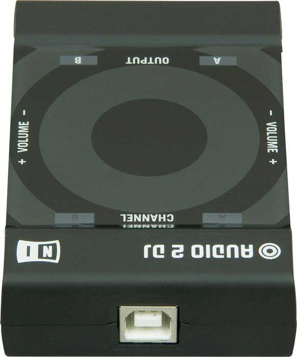 Native Instruments Traktor Audio 2 Rear View