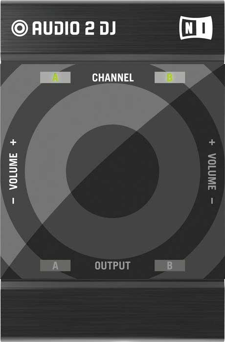 Native Instruments Traktor Audio 2 Top View