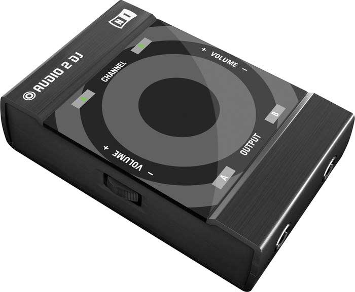 Native Instruments Traktor Audio 2 Left View