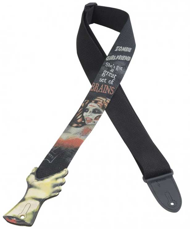 Levys MC8PZ Zombie Straps Brains