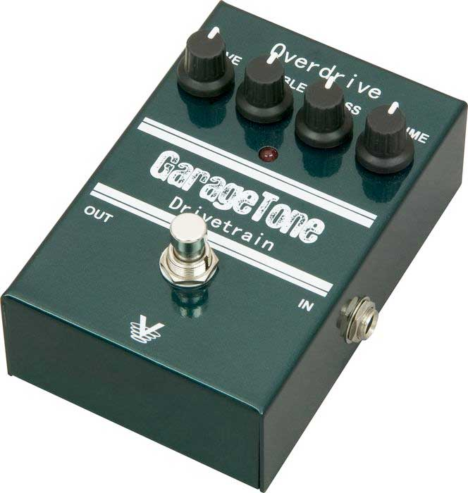 Visual Sound GarageTone Series Drivetrain Overdrive Angled View