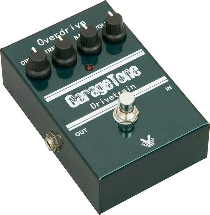 Visual Sound GarageTone Series Drivetrain Overdrive Angled View 2