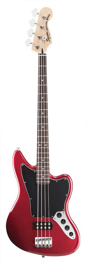 Squier Vintage Modified Jaguar® Bass Special Candy Apple Red w/ HM pickup