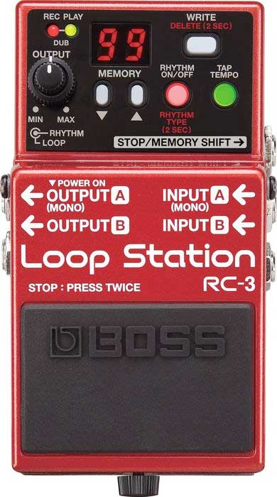 Boss RC-3 Top